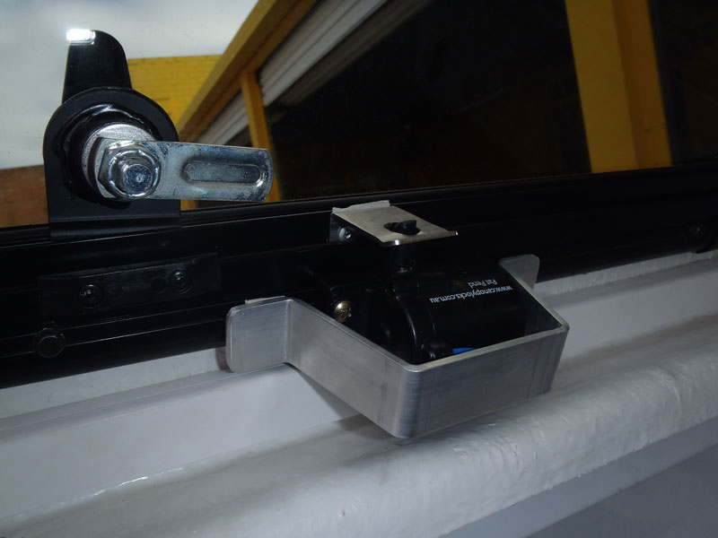 TJM Side Window Actuator with Protection Bracket